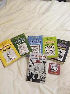 Set of Diary of a wimpy kid books Brinsmead Cairns City Preview
