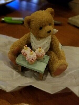 1992 P.Hillman Miniature Bear Age 3 Three Cheers for You Collectible  for sale  Rogers