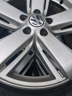 "19"" Amarok wheels."