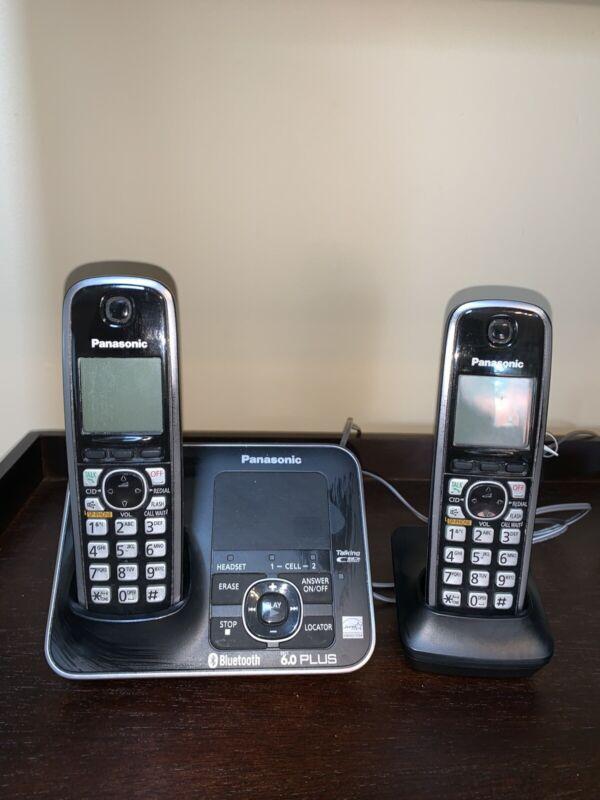 Panasonic cordless phone KX-TG7621. Talking Caller I'd. 6.0 plus