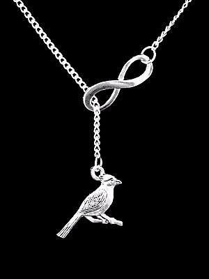 Necklace Cardinal Bird Animal Friend Sister Mom Son Christmas Gift Lariat