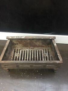 Antique fireplace hearth
