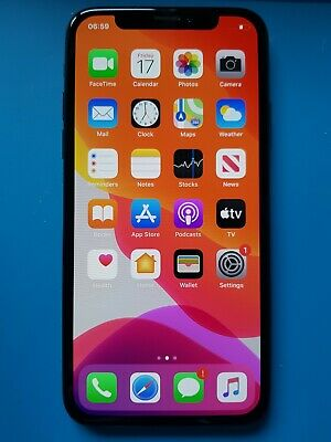 Apple iPhone X 64GB Unlocked Smartphone - Black (A1901)
