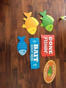 Fish Birthday themed party supplies