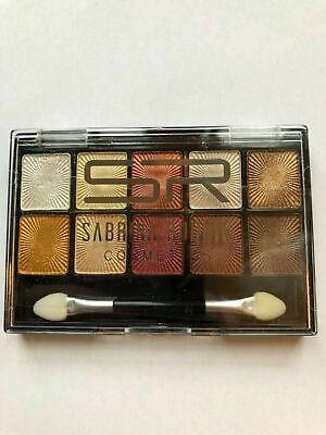 Lidschatten Palette 10 Farben Sabrina Cosmetics warme Erdtöne - Make Up Palette
