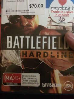 Battlefield hardline ps4 playstation game Curl Curl Manly Area Preview
