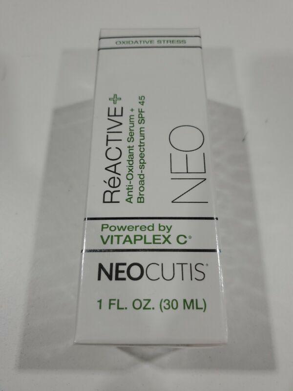 NEOCUTIS ReACTIVE Anti-Oxidant Serum 1oz(30 ML) **BRAND NEW/SEALED**  EXP. 03/20