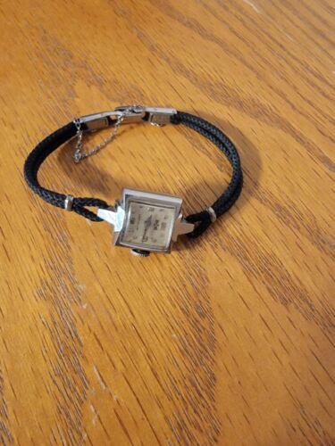 Vintage Ladies Lauy Elgin 10K Gold Filled Top Wristwatch - B & LERR Gift