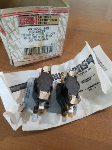 Factory Authorized Parts (FAP) - Sequencer - HN67QG005