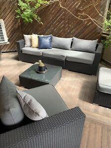 Modular Outdoor Furniture Setting