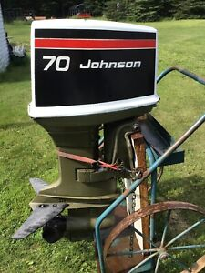 70 Hp Johnson Outboard | ⛵ Boats & Watercrafts for Sale in Ontario