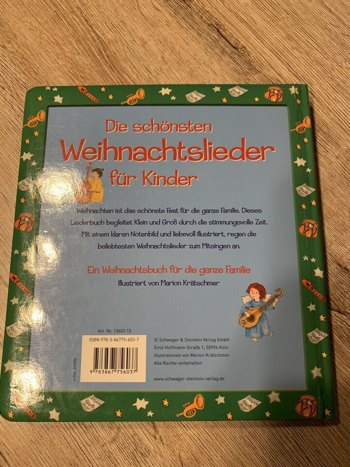 Die schönsten Weihnachtslieder für Kinder Buch in Bayern - Kaufbeuren
