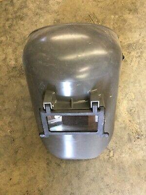 Honeywell Fibre-metal Model 5906gy Protective Welding Helmet Flip Up Shell Grey
