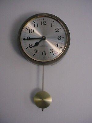 VINTAGE SETH THOMAS WALL CLOCK WITH PENDULUM