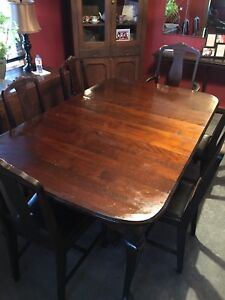 Duncan Phyfe antique dining table