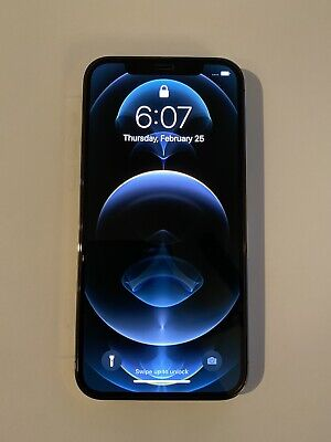 Apple iPhone 12 Pro - 256GB - Graphite (AT&T) Excellent Condition