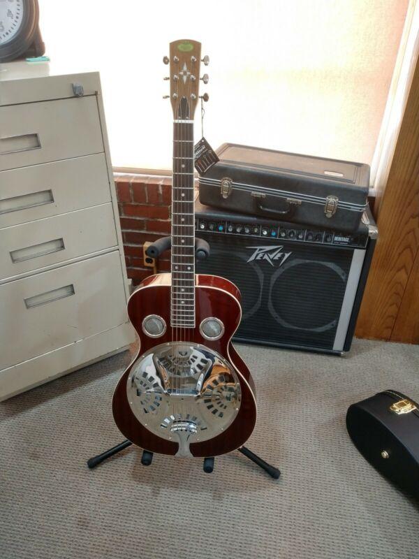 Regal Resonator Guitar RD-40M (Mahogany)