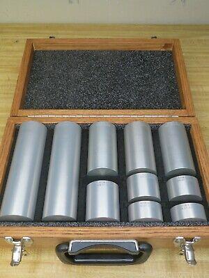 Astm-e-127 Area Amplitude Calibration Blocks 7075 Aluminum Set Of 10 Og48