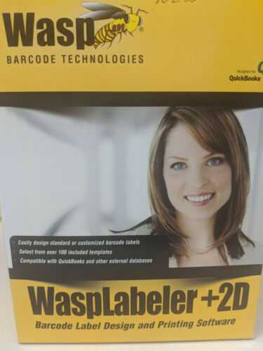 WASP LABELER +2D ** 1 USER LICENSE