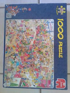 Jig saw puzzle 6000 piece
