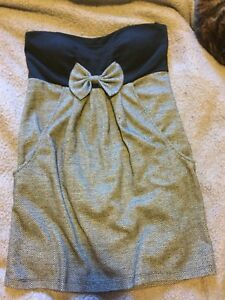 Dress with pockets and bow - Size L