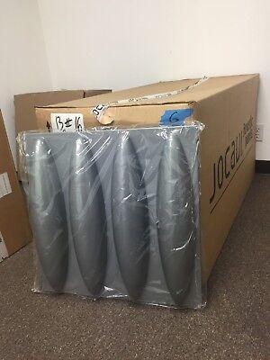 JOCAVI DYNAMICFLOW Acoustic Diffuser Panel DYN060 (Gray)  Each