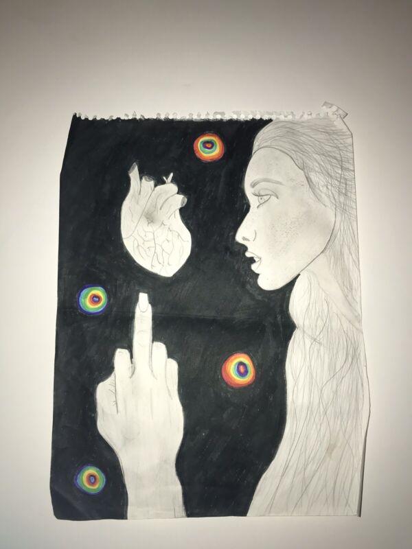 """Love Life"" Drawing"