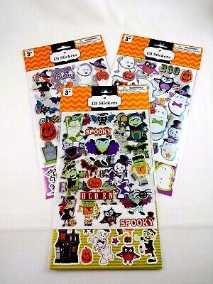 Halloween Scrapbook Embellishments (Halloween Stickers Scrapbook Embellishments 3 Packages 393 Decals Ages)