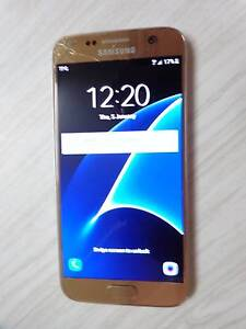 Samsung Galaxy S7 Gold - Works perfectly & unlocked Bendigo Bendigo City Preview