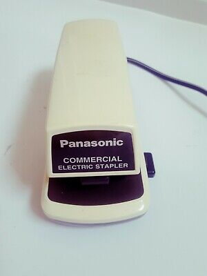 Panasonic As300n Commercial Electric Stapler W Adjustable Paper Depth - Works