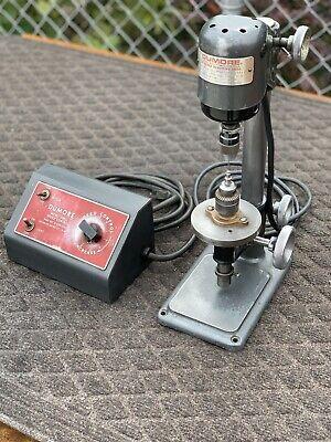 Vtg Rare Dumore Variable Hi Speed Sensitive Jewelers Mini Drill Press 16-011