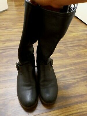 WOMEN'S FRYE leather BOOTS SIZE 8.5