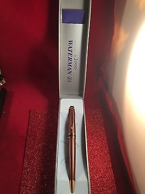 Vintage Waterman a Le 2000 Paris Pen Save! (450$orig)