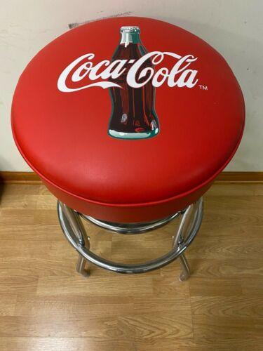 Coca-Cola Coke Bottle Bar Stools Stool Coca Cola USA Made Has Minor Defect