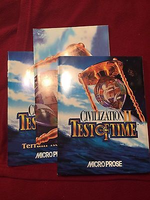 Civilization II Test of Time Manual Strategy Video Game Guide Books