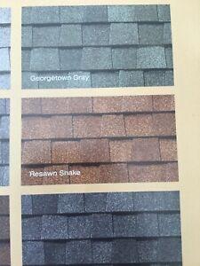 Landmark Roofing shingles