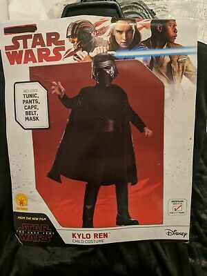 NEW Star Wars Kylo Ren Child Halloween Costume Size medium 5-7