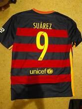Luis Suarez #9 Barcelona 2015-16 Large Home Jersey Panania Bankstown Area Preview