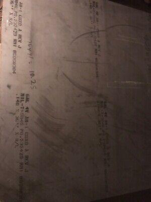.140 X 12 X 6.250 Titanium Sheet 6al-4v