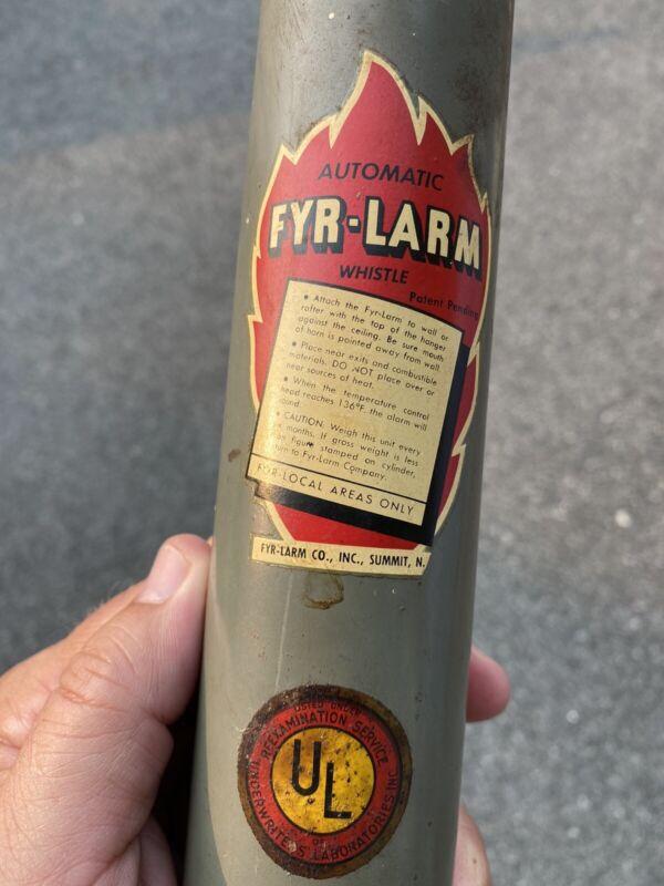 Fyr-Larm Fire Alarm Whistle