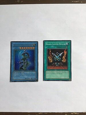 Black Luster Soldier 1st ed Ritual SYE-024 & 025 Ultra / Super NM-M PSA