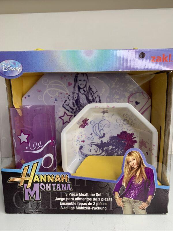 Hannah Montana 3 Piece Mealtime Kit, Disney