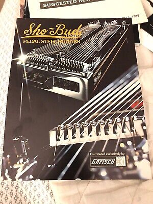 Vintage Gretsch Sho Bud Pedal Guitars Ad