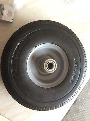 2 X Sack Truck Puncture Proof Wheels, 15mm Shaft, 300kg Capacity for sack truck,