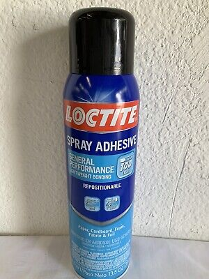Loctite General Performance 100 Spray Adhesive 13.5 Oz Dries Clear Crafts