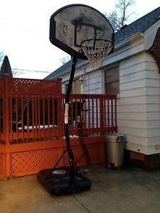 Basketball net.