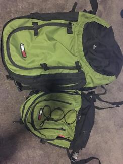80L + 20L Backpack