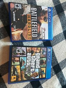 Gta5 and battlefield hardline for Sale!