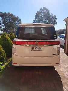 2010 Nissan elgrand highway star Roxburgh Park Hume Area Preview