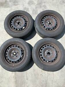 2008 - 2013 VW Golf  MK6 15inch Steel Wheels/Tires for sale T:20494 Neerabup Wanneroo Area Preview